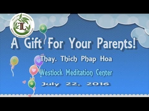 A Gift For Your Parents !