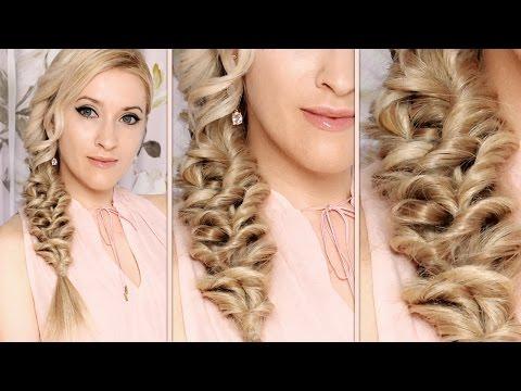Mermaid braid tutorial  Hairstyle for long hair - Hableány fonott frizura hosszú hajból