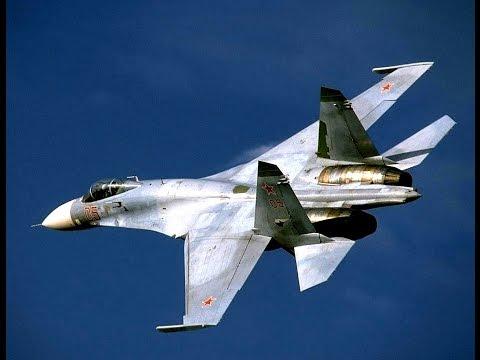 Российский истребитель Су-27 перехватил американский самолет 12.04