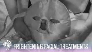 A Frightening Facial Treatment from the 50s