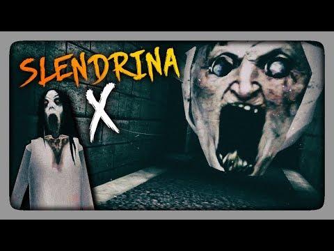 РЕШАЮЩАЯ БИТВА СО ЗЛОМ! ✅ Slendrina: X Прохождение