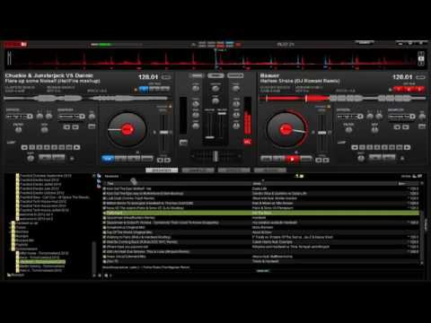 Mix n°17 HD----Sur VirtualDj Pro 7.0.5---Mix à la souris