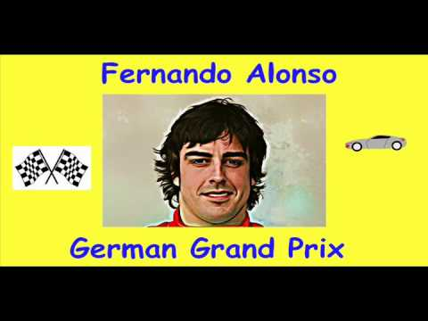 Fernando Alonso Wins German Grand Prix