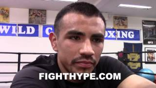 FRANKIE GOMEZ COMMENTS ON CANELO VS. KHAN: