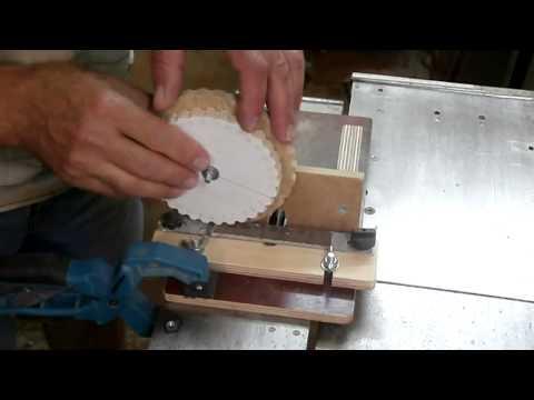Изготовление шестерней из дерева своими руками