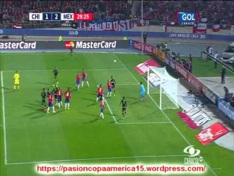 Chile 3 Mexico 3 (ADN Radio Chile)  Copa America 2015 Los goles