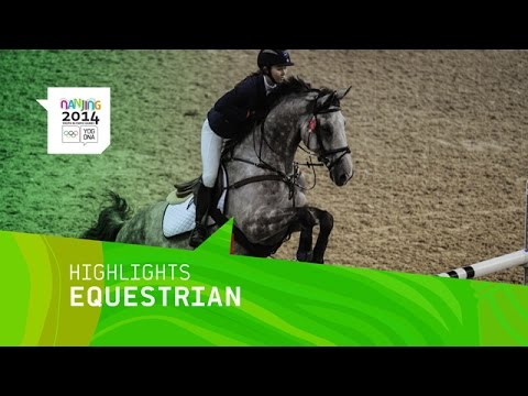 Highlights from Day 7 at the Nanjing 2014 Youth Olympic Games involving the Individual Equestrian Jumping event. Don't miss a single sport! Find the FULL liv...