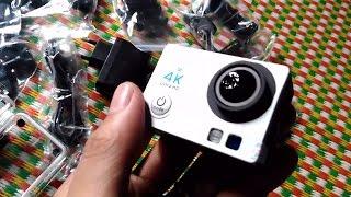 Đập Hộp Camera Hành Trình 4K Ultra HD Mua Tại Lazada - Lê Thuyên