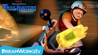 The Vespa Chase | TROLLHUNTERS