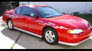 MY FIRST CAR OMG 2000 Chevy Monte Carlo SS Pace Car Limited Edition
