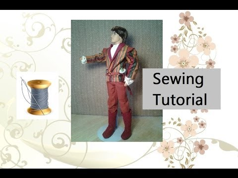 Tutorial: Sewing Pants for Ken Dolls
