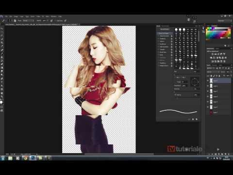 Manipularea Unei Fotografii Cu Ajutorul Funcitiei: Layer Via Cut Phoshop CS6