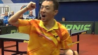 SAMSONOV, SMIRNOV vs MA Lin, TAN Ruiwu FINAL 1of3 Games Russian Premier League Playoff Table Tennis