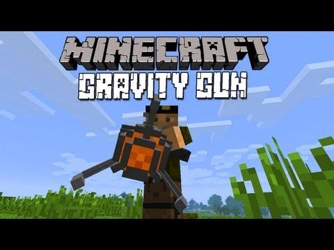 GRAVITY GUN! - MINECRAFT MOD