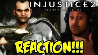 BLACK ADAM LOOKING GOOD! Injustice 2 Shattered Alliances Part 3 REACTION!!!