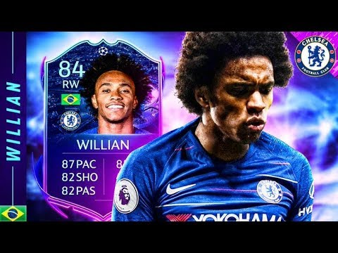 SHOULD YOU DO THE SBC?! 84 ROAD TO THE FINAL WILLIAN REVIEW! FIFA 20 Ultimate Team