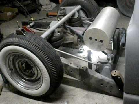 custom s10 rear suspension - YouTube