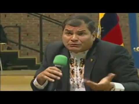 Conferencia magistral del Presidente Rafael Correa en la Universidad Técnica de Berlín