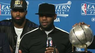 LeBron Discusses Michael Jordan in Heartfelt Post-Game Interview