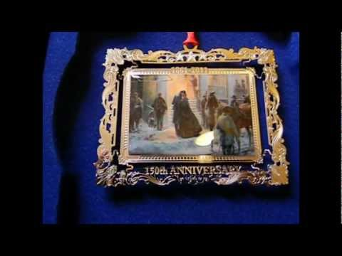 Mort Kunstler Collectible Christmas Ornaments & Timber Ridge School