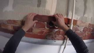 interior brick DIY