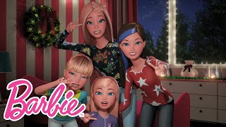 Jingle Bells A Cappella Sing-along with My Sisters! | Barbie Vlog | Episode 27
