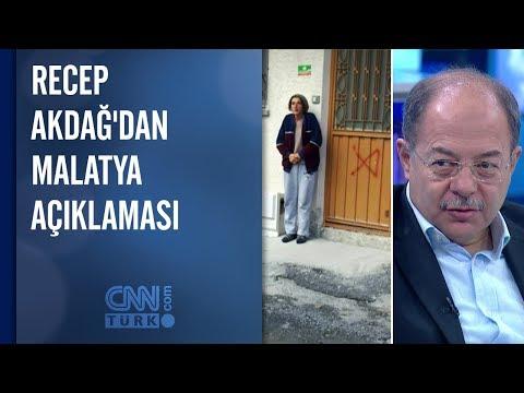 Recep Akdağ'dan Malatya açıklaması