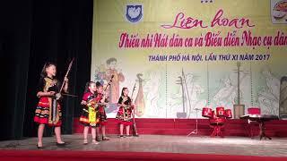 Liên hoan thiếu nhi hát dân ca và biểu diễn nhạc cụ dân tộc XI 2017