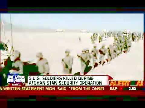 5 U S  troops killed during friendly fire airstrike in Afghanistan
