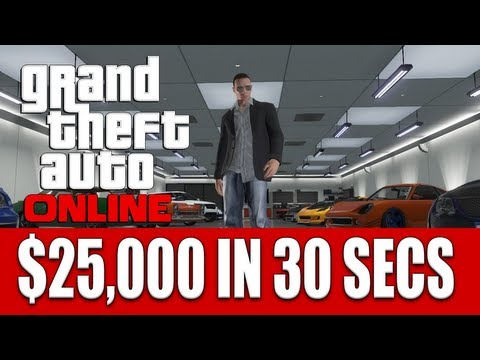 GTA ONLINE HOW TO MAKE $25.000 IN 30 SECONDS EASY!! (ROOFTOP RUMBLE)