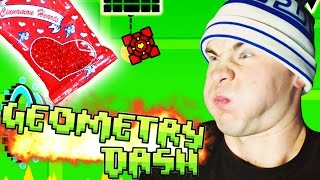 Geometry Dash [Steam] ~ CINNAMON HEART CHALLENGE (Jumper, Time Machine)