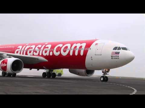 AirAsia X  Inaugural Kuala Lumpur to Auckland Service 2016