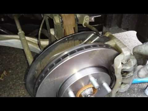 How to change breaks on Honda Odyssey 2010, 2009, 2008, 2007,2006, 2005 part 2