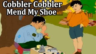 Cobbler Cobbler Mend My Shoe Rhymes For Children || Cobbler Cobbler 3D Animated Rhymes For Kids