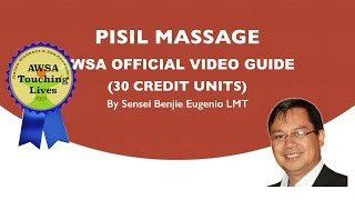 PISIL MASSAGE OFFICIAL AWSA VIDEO GUIDE