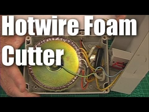 DIY: hot-wire foam cutter for making RC planes