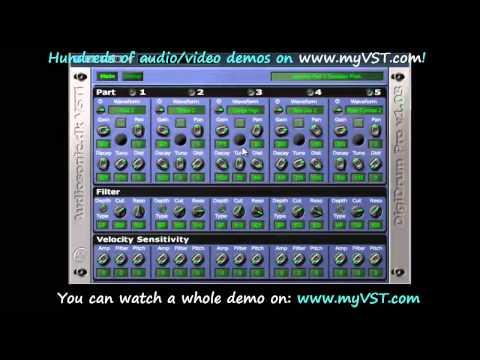 DigiDrum Pro - Free VST - myVST Demo