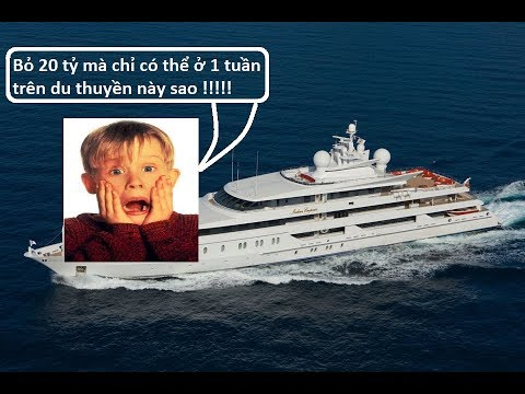 16 Siêu du thuyền hiện đại và xa hoa nhất thế giới - Có chiếc bỏ 20 tỷ chỉ có thể ở 1 tuần thumbnail