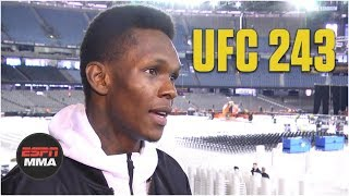 Israel Adesanya previews Robert Whittaker fight, calls Jon Jones a 'big troll' | UFC 243 | ESPN MMA