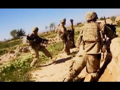 M249 SAW Gunner Helmet Cam Firefight