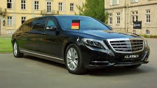 Mercedes - Maybach S 600 & S650 Pullman Guard by KLASSEN ® +1050 STRETCHCARS Neue  Staatslimousine