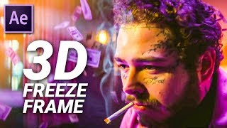 3D EFFECT by DJ Khaled & Post Malone in After Effects