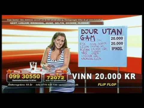 Knulla Fett med Eva Nazemson (Quizzo 16/7-2009)