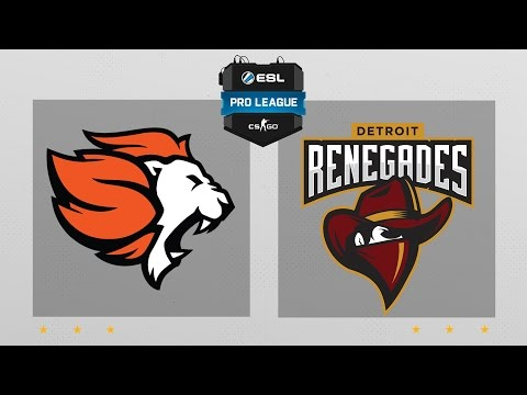 CS:GO - Selfless vs. Renegades [Cache] Map 1 - ESL Pro League Season 5 - NA Matchday 15
