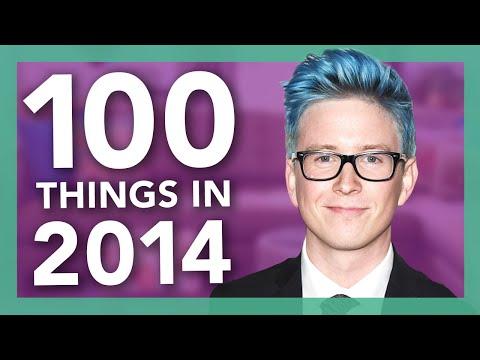 100 Things We Did In 2014 | Tyler Oakley thumbnail
