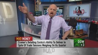 Jim Cramer says Costco has a China problem, and it's not tariffs