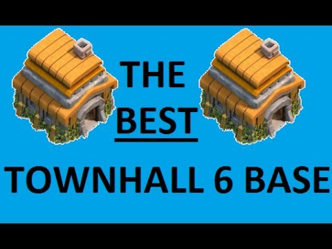 BEST Clash of Clans Townhall 6 Defense Base Layout/Design