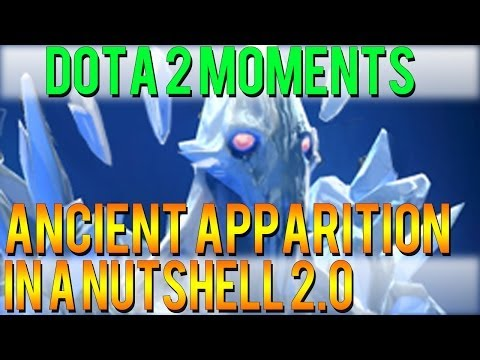 Dota 2 Moments - Ancient Apparition in a Nutshell 2.0