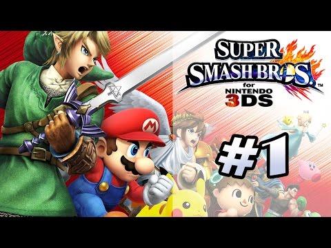 Super Smash Bros 3DS - CA VA SMASHER ! (Partie 1)