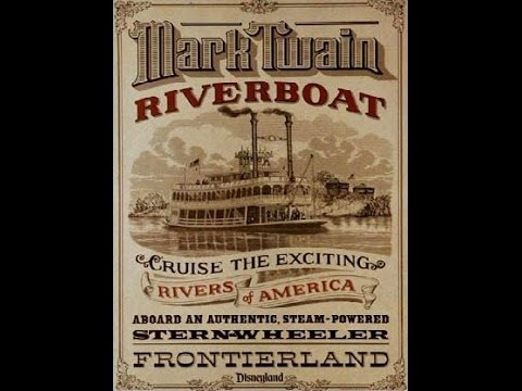 Mark Twain Riverboat - HD Experience (October 2013) - Disneyland Park